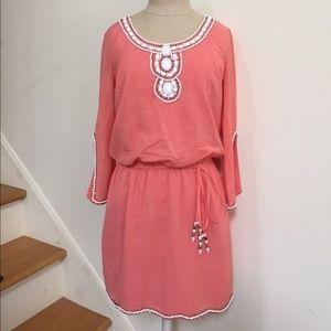Lilly Pulitzer Coral Orange Tunic Dress